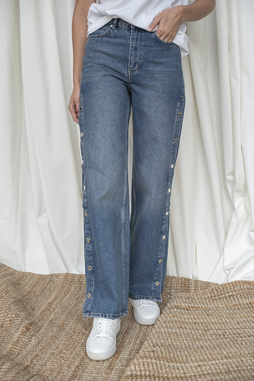 2ND DAY Maia Jeans Indigo Stone bukse