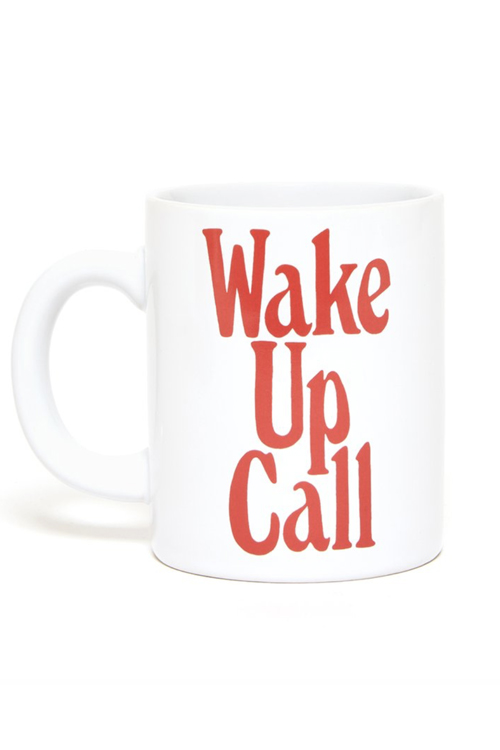 Ban.do Hot Stuff Ceramic Mug Wake Up Call krus