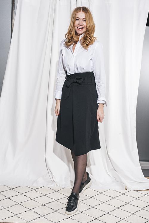 Cathrine Hammel Skirt Black skjørt