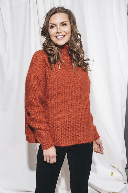Linda Mohair Sweater Red