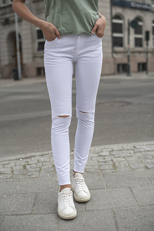 Fiveunits Kate 541 White Rude jeans