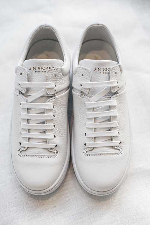 Jim Rickey Cloud Fat White sneakers sko