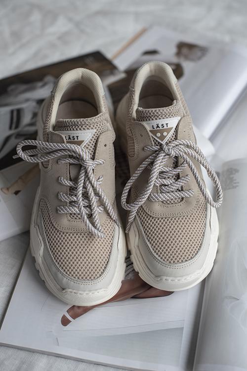 e18f8a02 8. LÄST Sprint Sneakers Beige sko