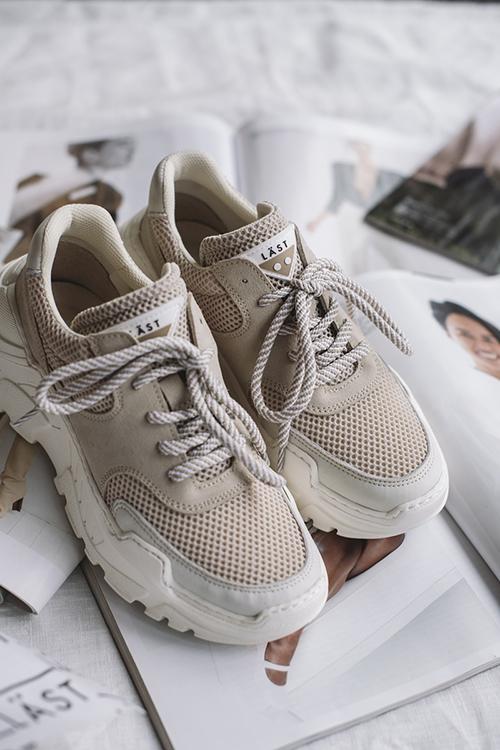 afa8e597 LÄST Sprint Sneakers Beige sko