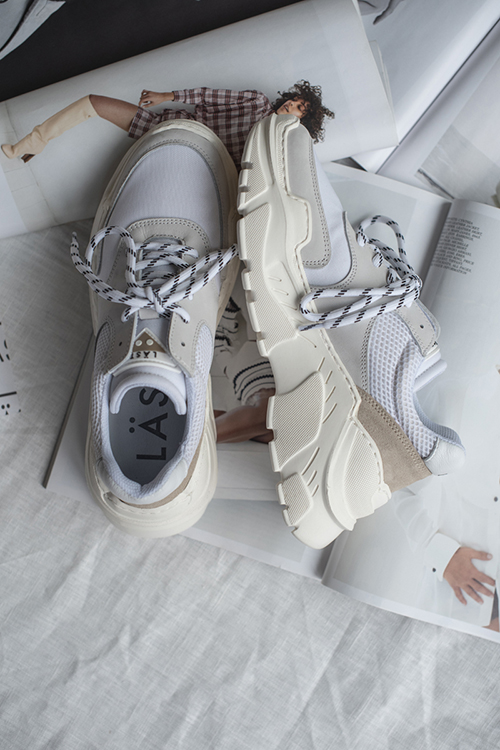 ae370174 5. LÄST Sprint Sneakers White sko