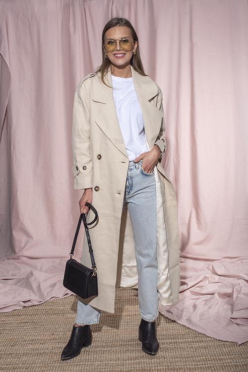 Hepburn Linen Coat Sand