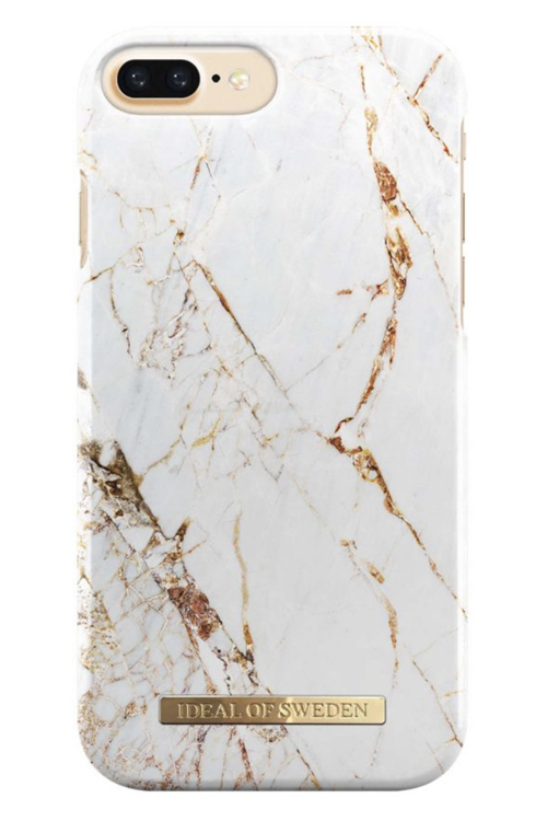 iDeal of Sweden Carrara Gold Plus mobildeksel